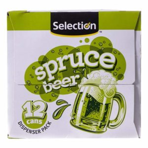Spruce beer side picture