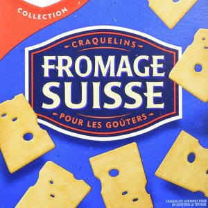 Christie Swiss Cheese Crackers, 200g/7.05 Ounces {Imported from Canada}